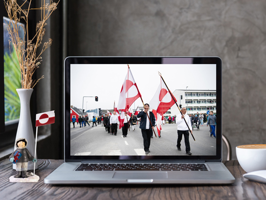 Sermersooq fejrer nationaldagen digitalt